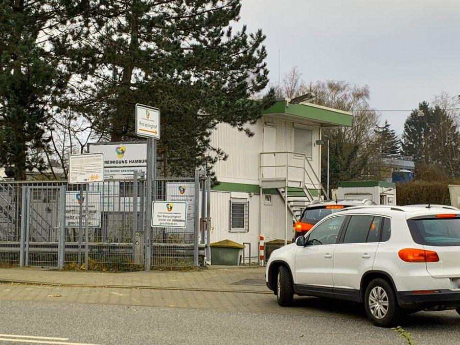 Der Recyclinghof Krähenweg in Niendorf zieht um!