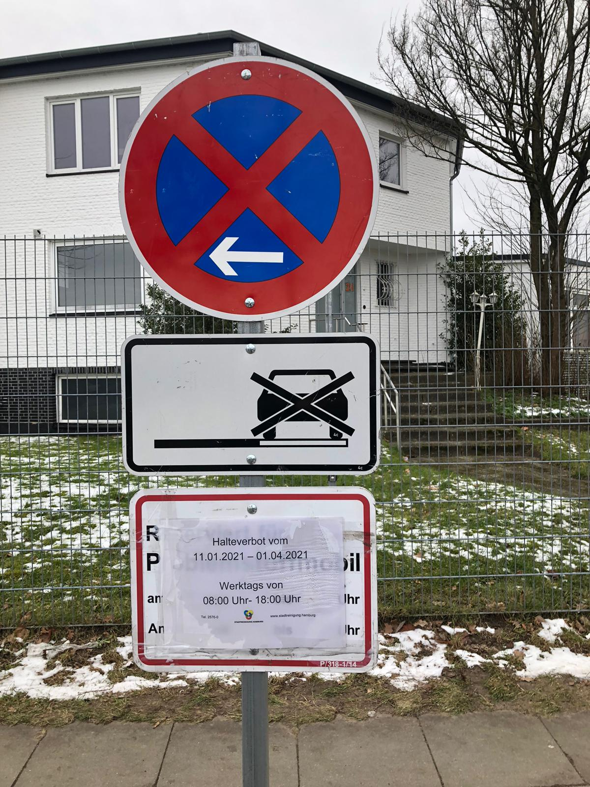 Vielversprechende Maßnahme im Niendorfer Krähenweg!