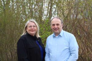 Große Bauprojekte und kein Mobilitätskonzept: Silke Seif und Andreas Stonus