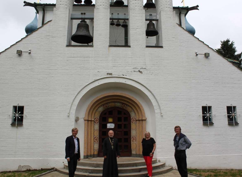 Kirche des heiligen Prokop in Eidelstedt besucht