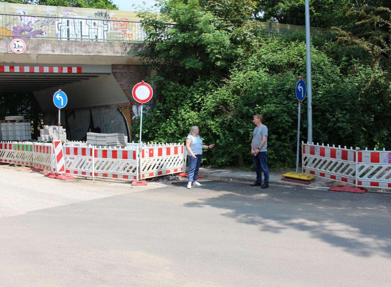 Dauerbaustelle Niendorfer Straße im Zeitverzug inklusive unbekannter Zusatzkosten